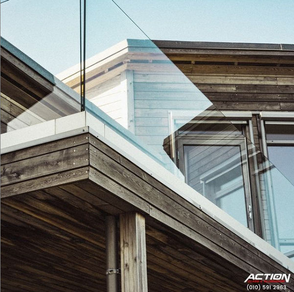 replacing glass in fixed aluminium windows