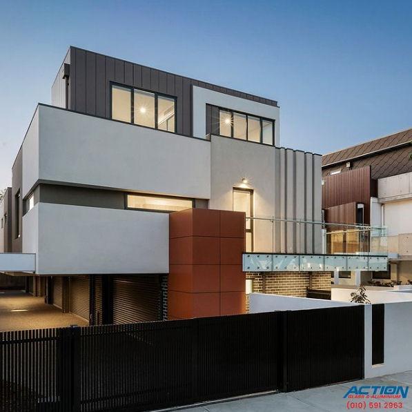 aluminium glazing extrusions