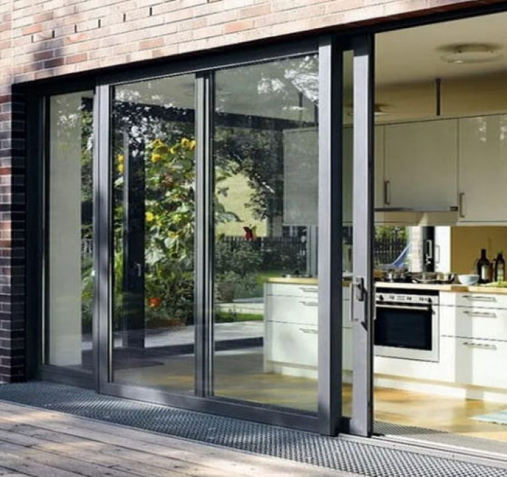 aluminium sliding patio door